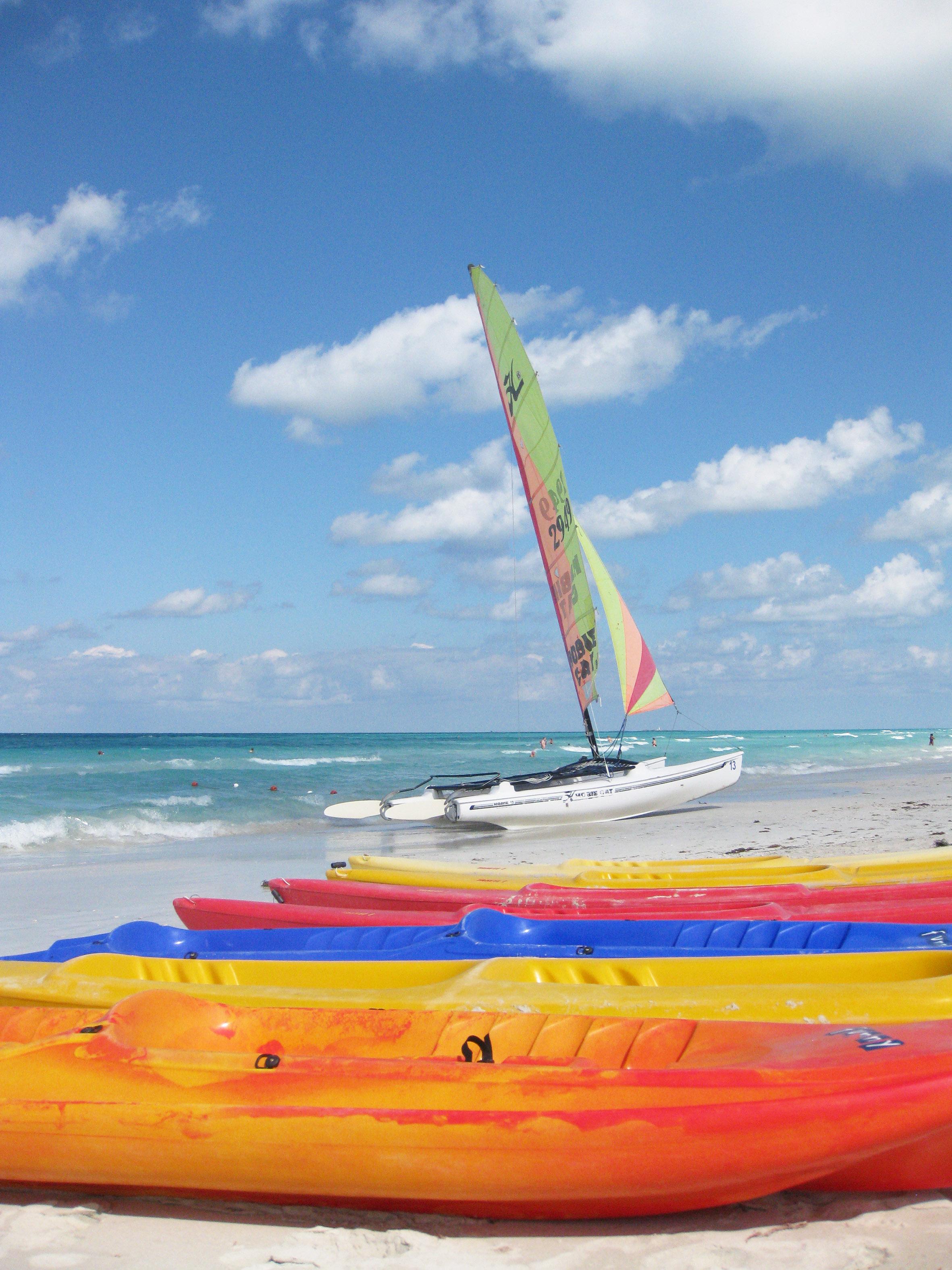 Wassersport ist auf Kuba ein großes Vergnügen für Touristen und
